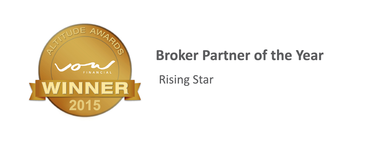 Winner Broker partner of the year rising star